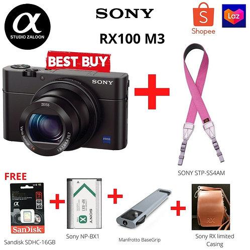 Sony Cyber-shot DSC-RX100 III Digital Camera / RX100 M3 ( Year End Promotion )