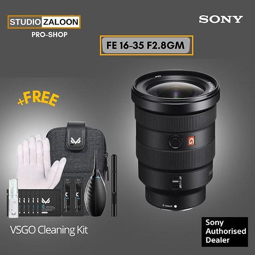 Sony FE 16-35mm f/2.8 GM Lens 1635gm With Peak Design Camera Strap