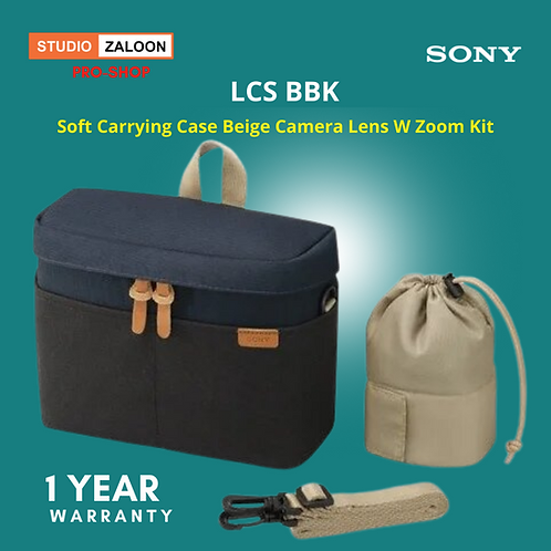 Sony LCS-BBK Soft Carrying Case (Black) for Sony A5000, A5100, A6000, A7 Series