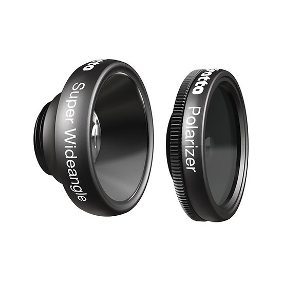 MANFROTTO MOKLYP6-SWP KLYP+ Super Wide-Angle,Polarizer Lenses for iPhone 6/6Plus