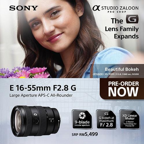 ( Pre-Order ) E 16-55mm f/2.8 G Lens
