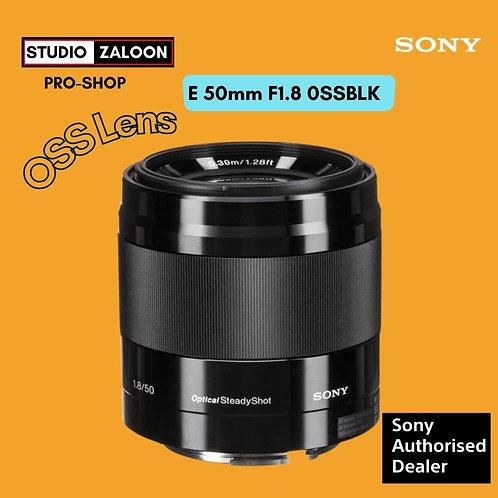 Sony SEL 50mm f/1.8 OSS Lens (Black)
