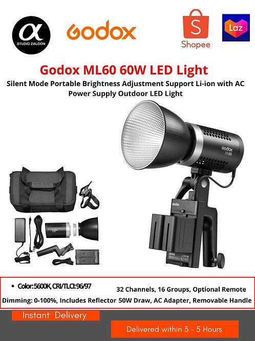 Godox ML60 Portable Studio LED Light