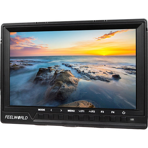 """[ Pre-Order 2 Weeks ] FeelWorld FW760 7"""" On-Camera LCD Monitor"""