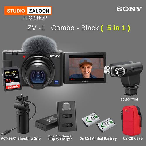 Sony ZV1 Black Combo ( 5 in 1 )