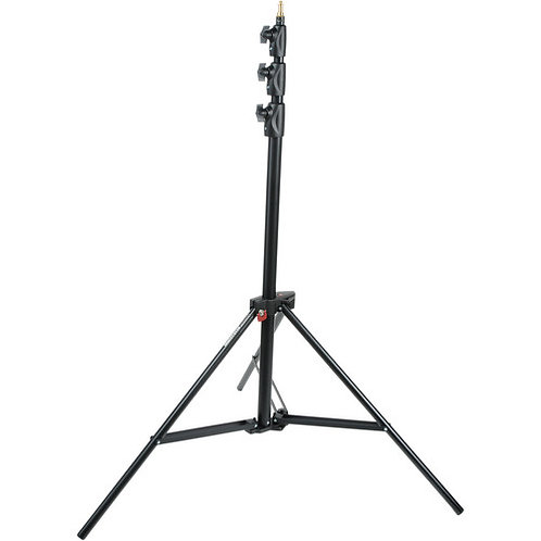 Manfrotto 1004BAC Alu Master Air-Cushioned Stand (Black, 12')
