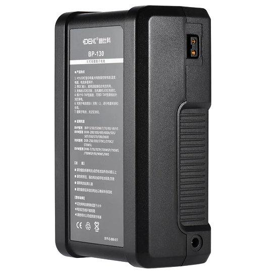 PRE ORDER DBK BP-130 Li-ion 8800 mAh 130Wh V Mount Battery