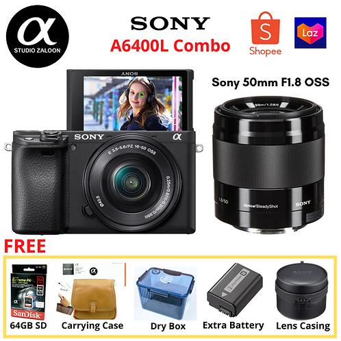 Sony Alpha a6400 New Year Promo SALE Portraiture Bundle