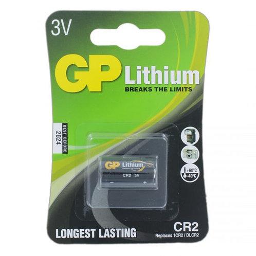[Pre-Order 3 Weeks] GP Batteries Photo Lithium CR2 Battery