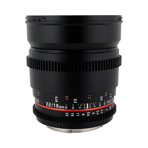 (Pre-Order 2 Weeks) Samyang 16mm T2.2 Cine Lens for Canon EF