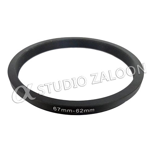 67-62mm Step-Down Ring
