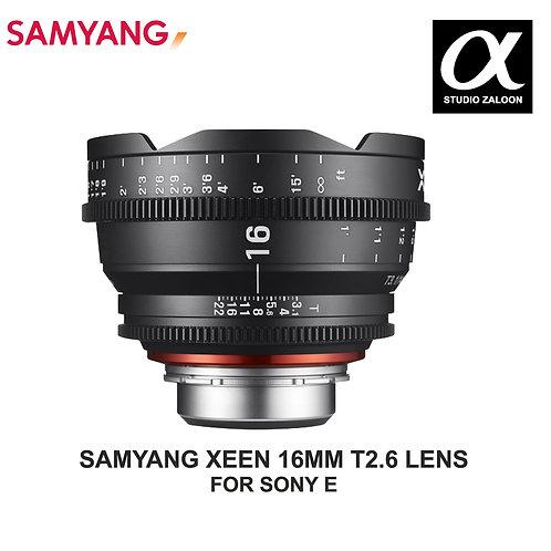 [PRE-ORDER 5 WEEKS] SAMYANG XEEN 16MM T2.6 CINE LENS FOR SONY E