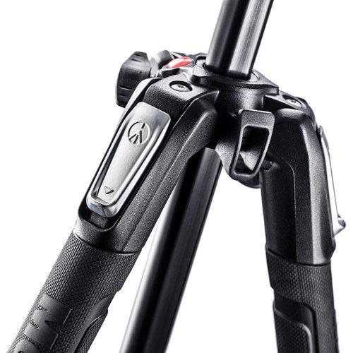 Manfrotto MK190X3-3W Kit  Aluminum Tripod