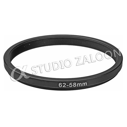 62-58mm Step-Down Ring