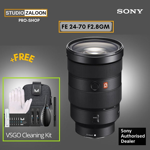 Sony FE 24-70mm f/2.8 GM With VSGO CLEANING KIT