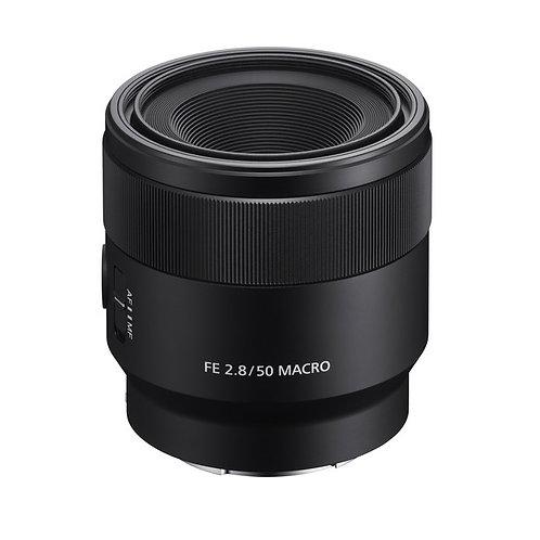 Sony FE 50mm f/2.8 Macro Lens FE50F28