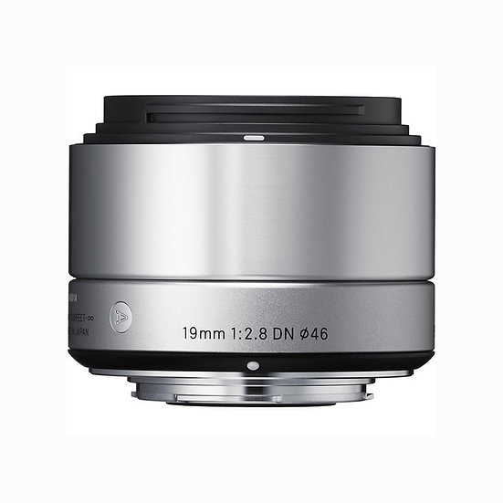 [ PRE ORDER 3 WEEKS ]Sigma 19mm f/2.8 DN Lens for Sony E-mount Cameras (Silver)