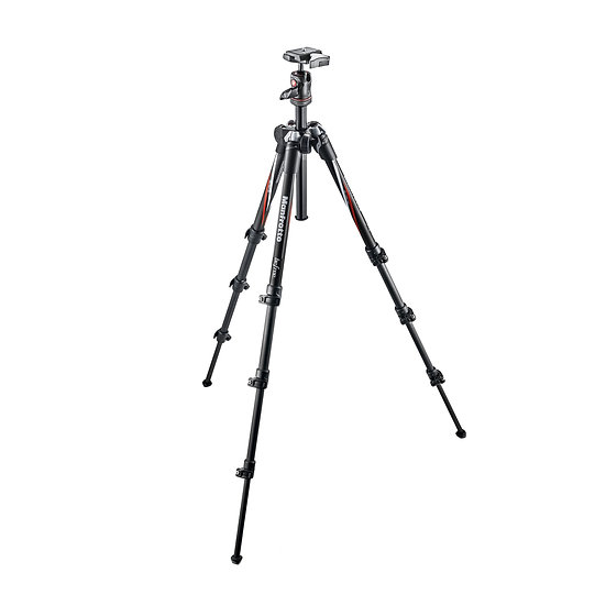 Manfrotto MKBFRC4-BH BeFree Compact Travel Aluminum Alloy Tripod