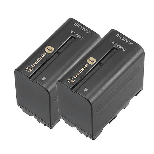 Sony NP-F970 L-Series Info-Lithium Battery (Twin Pack)