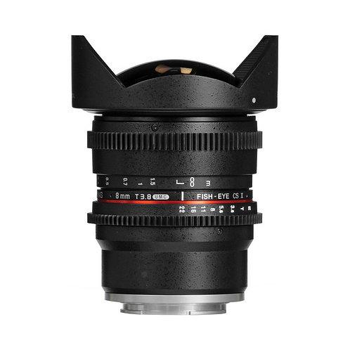 [PRE-ORDER 3 WEEKS] Samyang 8mm T3.8 UMC Fish-Eye CS II Lens for MFT