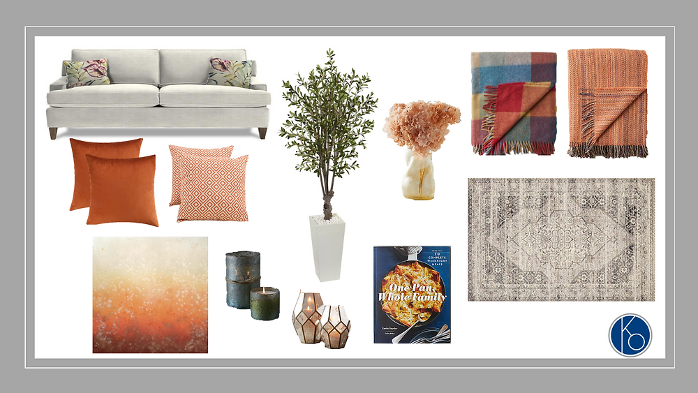 Blog to update your home's interior with Fall's colors