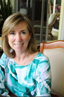Kelly O'Neil, Principal of Kelly O'Neil Interior Design, LLC, a residential interior design firm in Wellington, FL