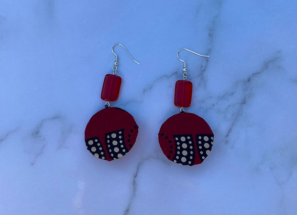 Sawson- Traditional African Earrings