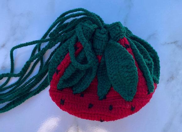 Sawson- Strawberry Pouch