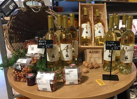 zwirs wijngaard verkoopadressen jumbo monique