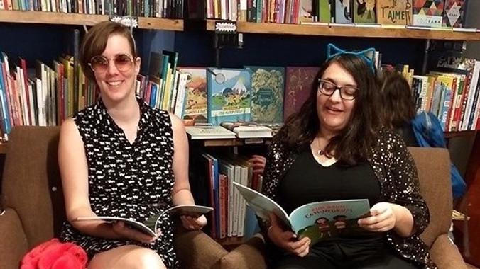 (Virtual) Live Book Reading