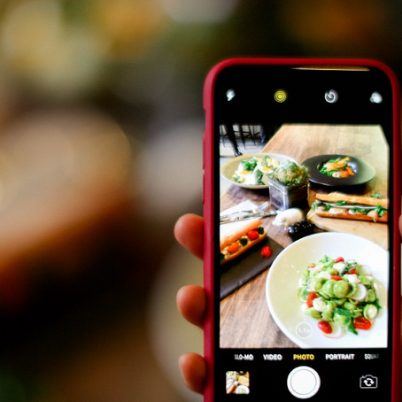 5 Tips For Taking Amazing Food Photos