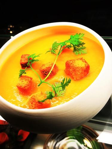 Soupe Potimarron Pleurottes