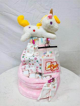 NB-02 Unicorn Diaper Cake