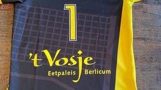 Eetpaleis 't Vosje Berlicum nieuwe sponsor Hands-Up Dames 1!