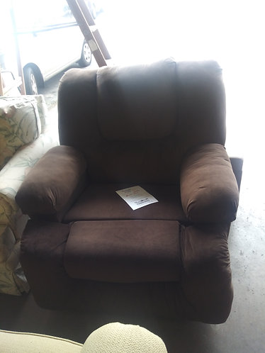 beautiful brown recliner