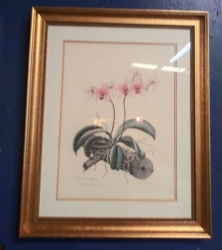 Gorgeous floral painting in a gold frame