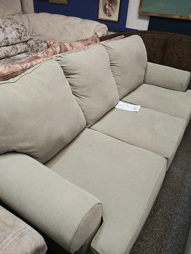 amazing quality fabric couch