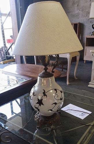 Very nice white ceramic lamp