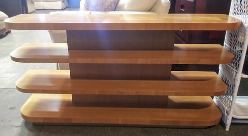 beautiful wood Tv stand