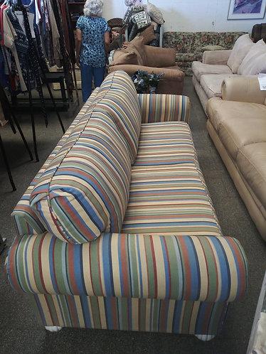 strips colorful sofa