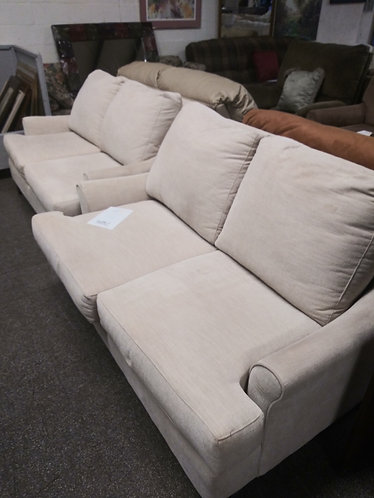 Very Nice Cream Colored Matching Loveseats