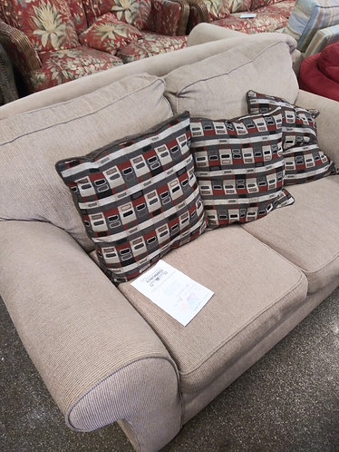 Gorgeous brown love seat
