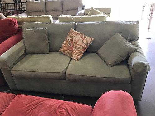 Green Sleeper Love Seat
