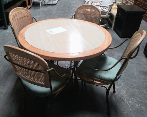 High quality marble top table and 4 chairs for half the retail price!