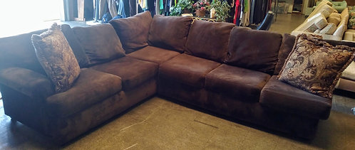 One of the softest most comfortable sectionals you will sit on!