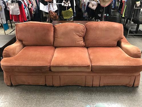 Orange Havertys Couch