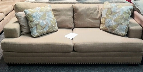 amazing  and comfortable fabric couch