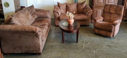 beautiful and affordable couch and love seat and recliner