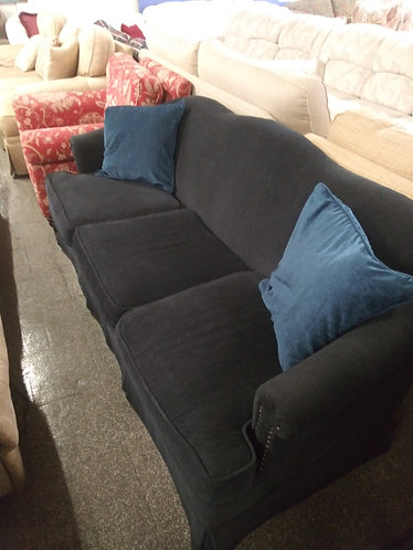 Beautiful Dark Blue Sofa
