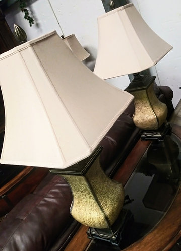 Set of 2 exquisitely gorgeous lamps
